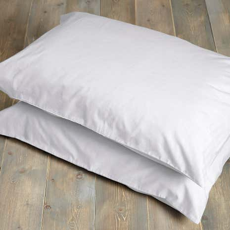 Percale Housewife Pillowcase Pair