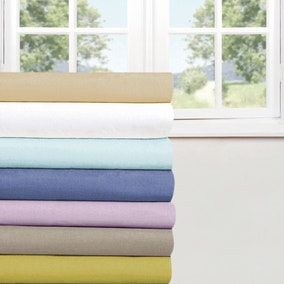 Percale 180 Thread Count Flat Sheet