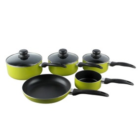 Spectrum Lime 5 Piece Pan Set