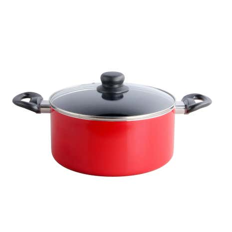 Spectrum Red Stock Pot