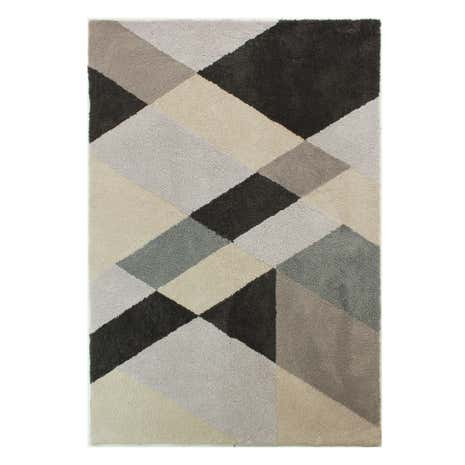 Grey Shards Rug