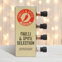 4-Bottle Chilli And Spice Selection