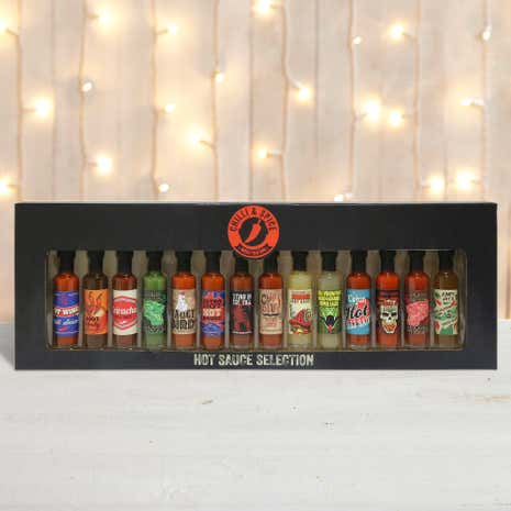 14 Chilli Sauces Gift Set Selection