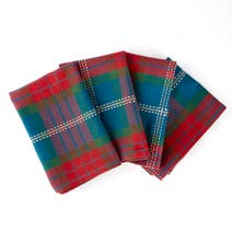 Pack of 4 Fergus Check Napkins