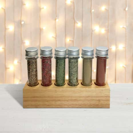 Spice Rack with Spices Gift Set