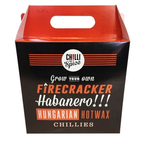 Grow Your Own Chillies Gift Pack