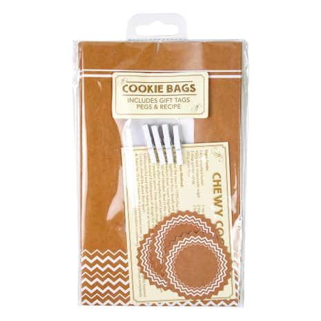 Kraft Paper Cookie Bag Kit