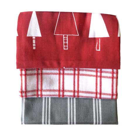 Pack of 3 Novelty Tea Towels