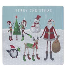 Pack of 4 Oversized Characters Placemats