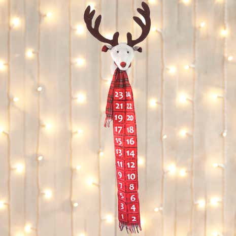 Reindeer Head Advent Calender