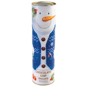 Giant Snowman 300g Biscuit Tube