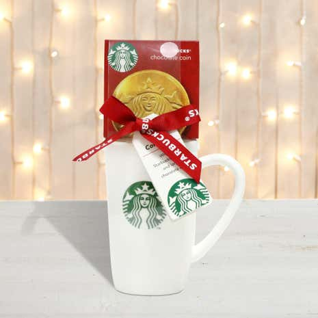 Starbucks Chocolate Coin Mug