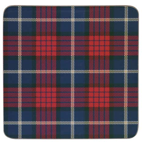 Set of 4 Tartan Coasters