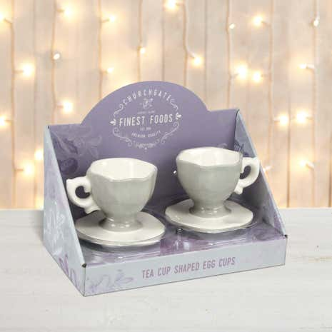 Tea Cup Egg Cups