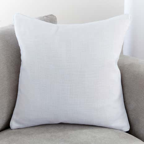 Vermont White Cushion