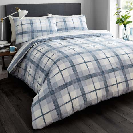 Grantham Blue Twin Pack of Duvet Cover Sets