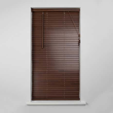 25mm Acacia Wooden Venetian Blind