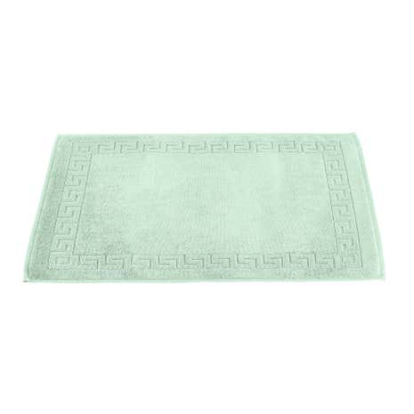Egyptian Cotton Mint Bath Mat