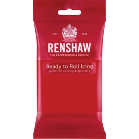 Renshaw Poppy Red Ready to Roll Icing