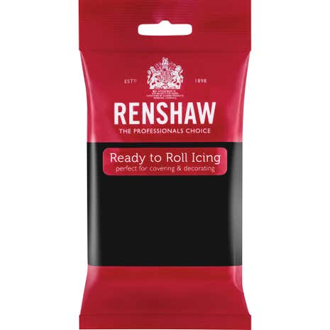Renshaw Black Ready to Roll Icing