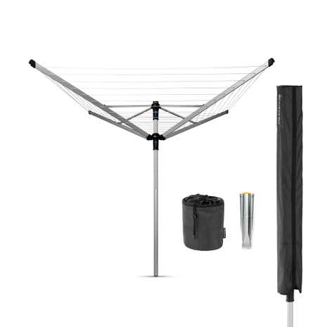 Brabantia 50 Metre 4 Arm Rotary Liftomatic Advance Airer