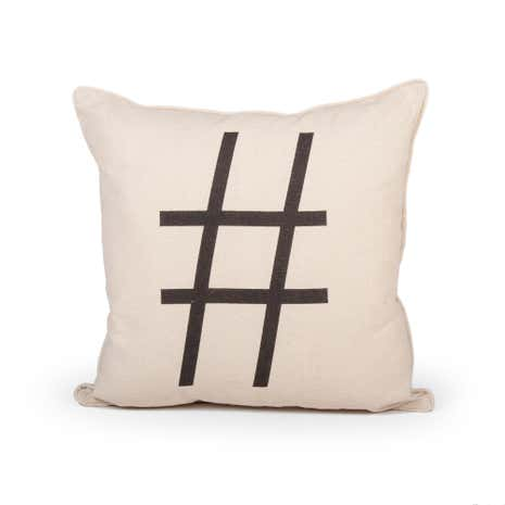 Hashtag Cushion