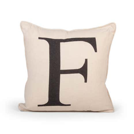 Letter F Cushion