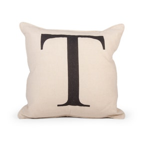 Letter T Cushion