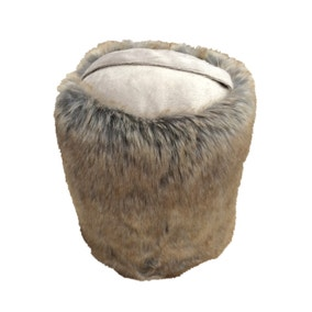 Faux Fur Door Stop