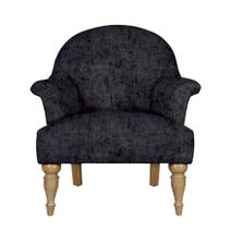 Dorma Wentworth Darcy Charcoal Chair