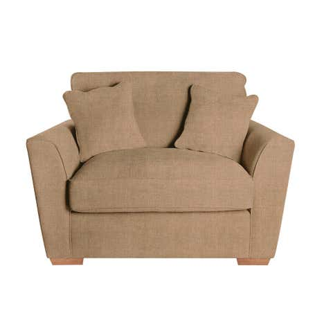 Grosvenor Geo Lux Gold Snuggle Chair