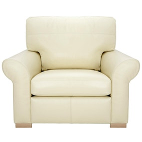 Finchley Madras Cream Armchair