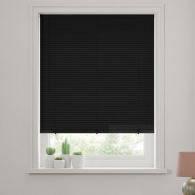 27mm Black Wooden Venetian Blind