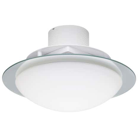 Invierno 2 Light Flush Ceiling Fitting and Extractor Fan