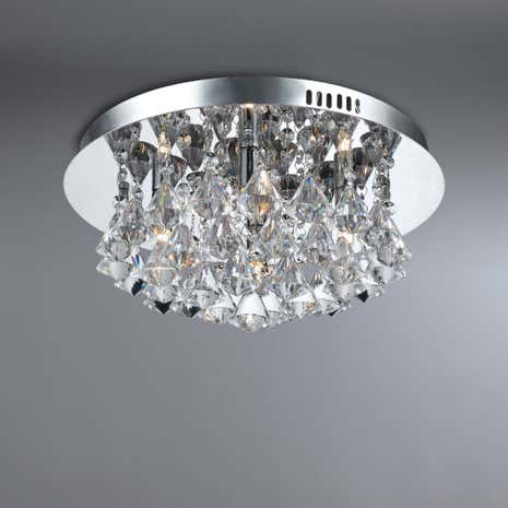 Tinkler 4 Light Flush Ceiling Fitting