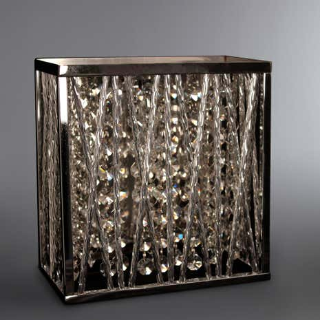 Simmond Hexagonal Crystal Wall Light