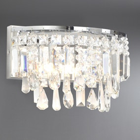 Marquis by Waterford Bresna Chrome Wall Light