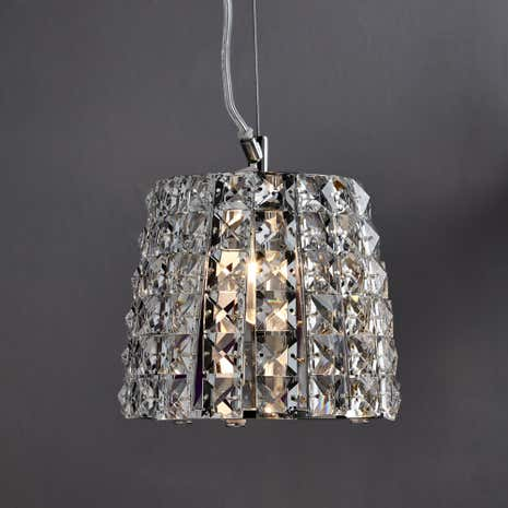 Marquis by Waterford Moy Chrome Light Pendant