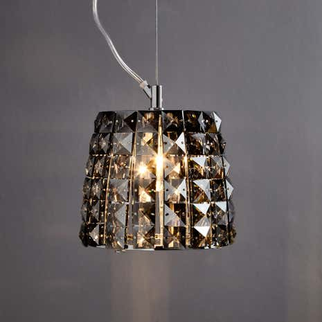 Marquis by Waterford Moy Black Chrome Light Pendant