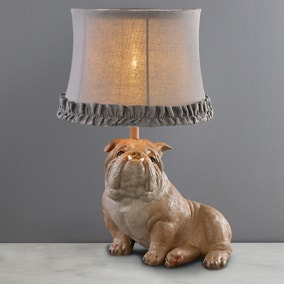 George Dog Table Lamp