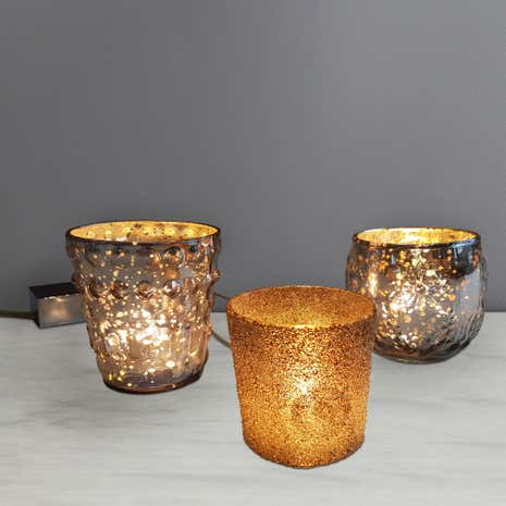 India 3 Tea Light Cluster