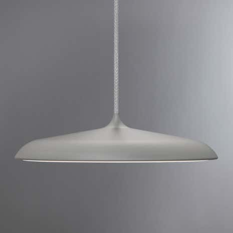 Artist Small Grey LED Pendant Light Fitting