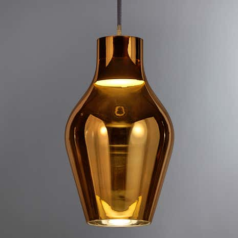 Nordlux Small Blow Gold Light Pendant