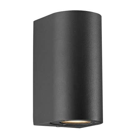 Canto Maxi Black Wall Light