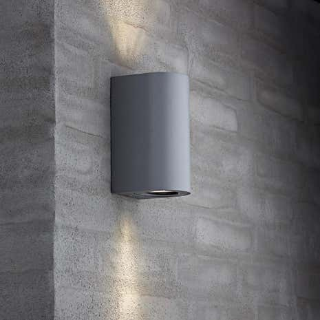 Canto Maxi Grey Wall Light