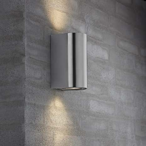 Canto Maxi Stainless Steel Wall Light