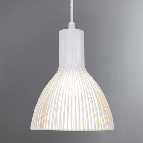 Emition White Pendant Light Fitting