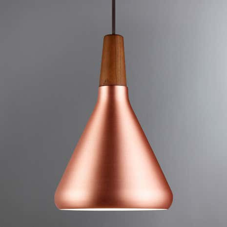 Float Small Copper Ceiling Pendant