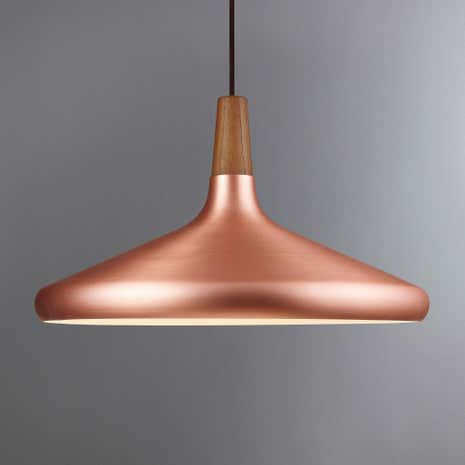 Float Large Copper Ceiling Pendant