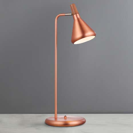Float Copper Table Lamp